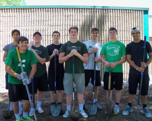 Mason Football Team Volunteers